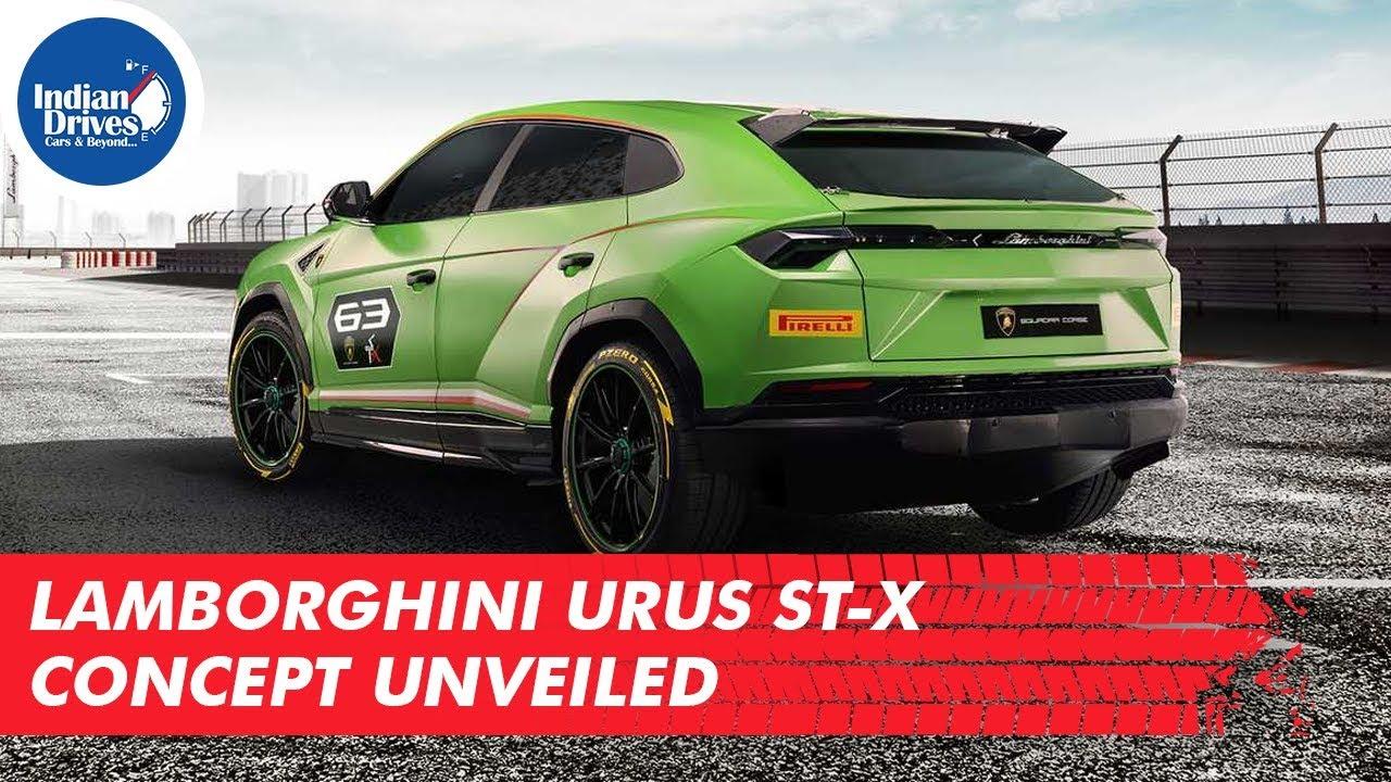 Lamborghini Urus St-x Concept Unveiled