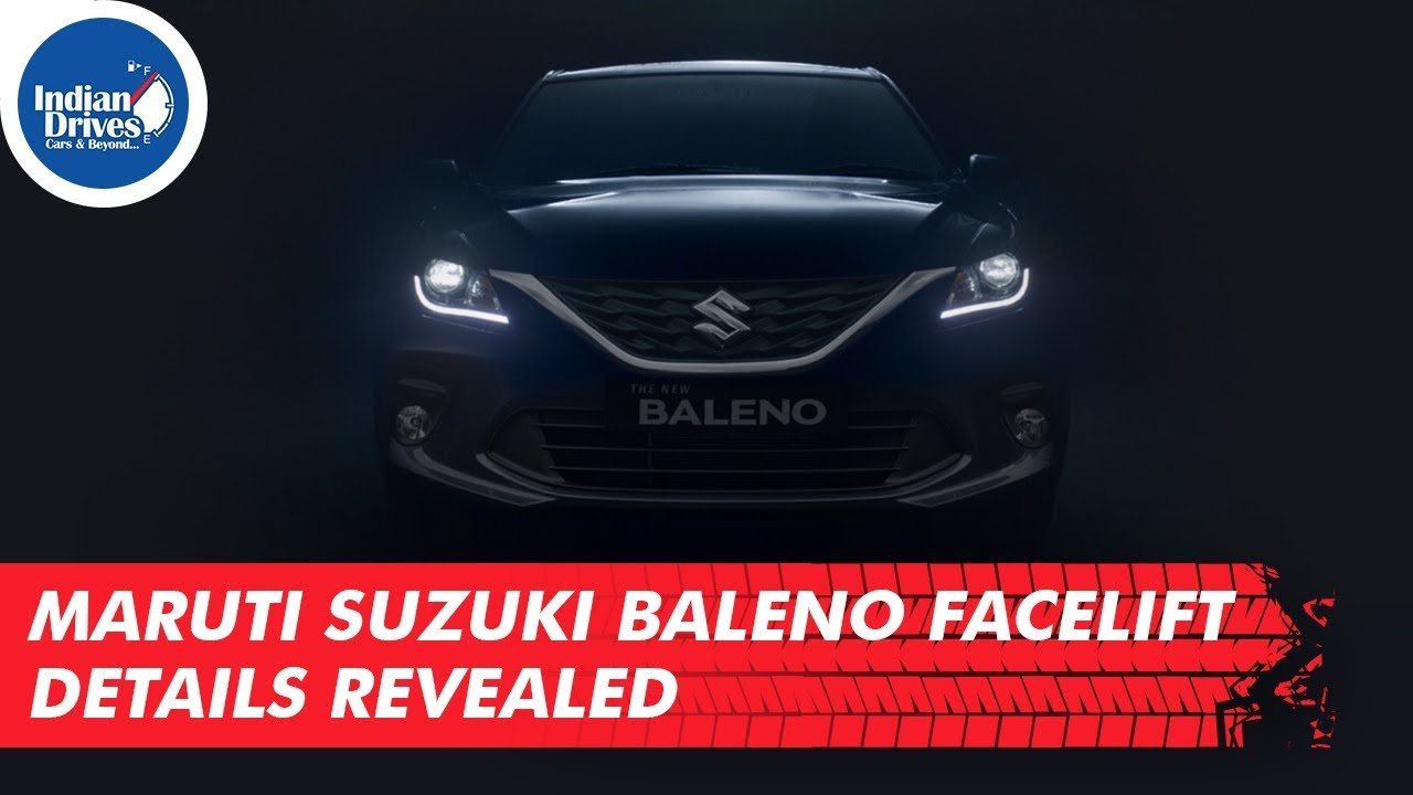 Maruti Suzuki Baleno Facelift Details Revealed