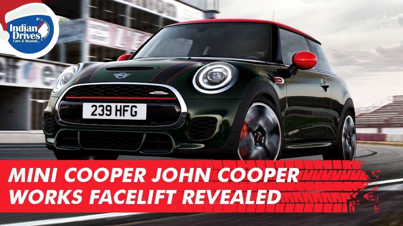 MINI John Cooper Works Facelift Revealed