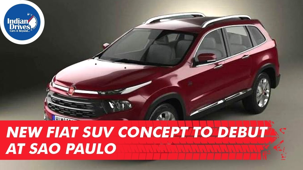 New Fiat SUV Concept To Debut At Sao Paulo