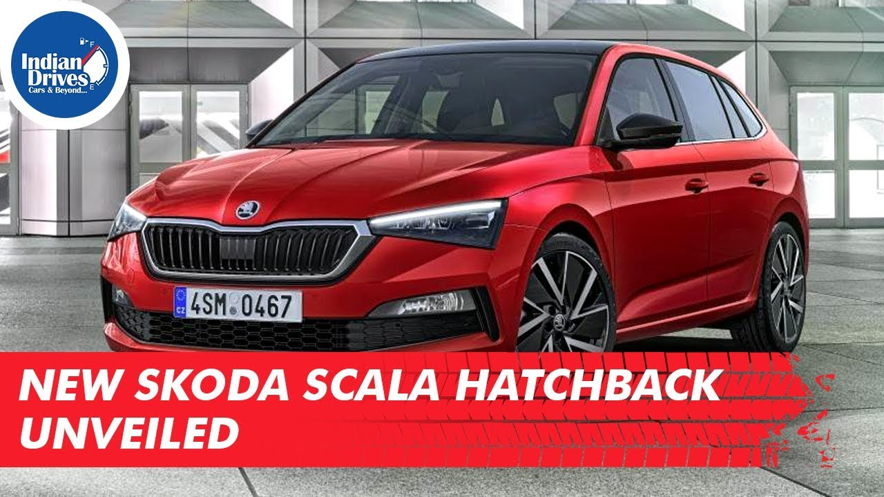 New Skoda Scala Hatchback Unveiled