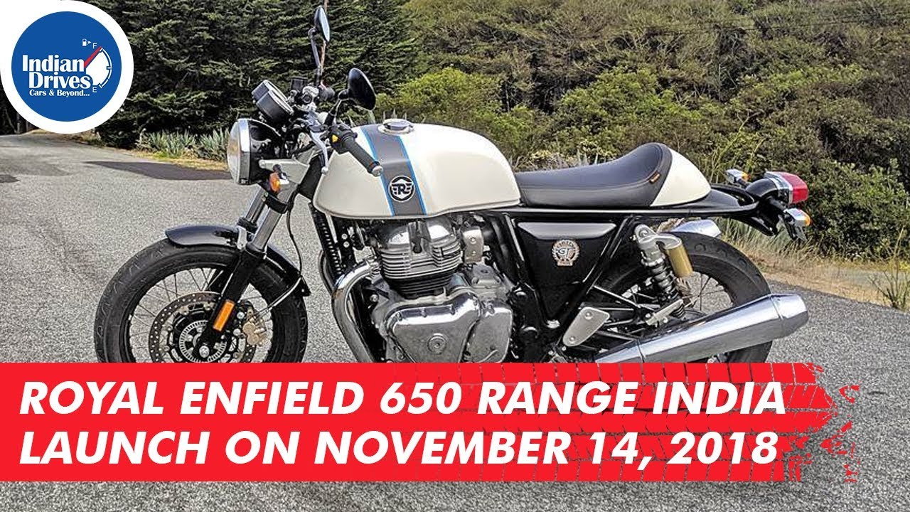 Royal Enfield 650 Range India Launch On November 14, 2018