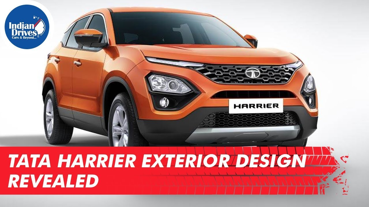 Tata Harrier Exterior Design Revealed