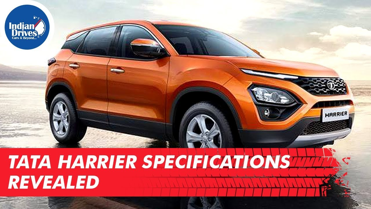 Tata Harrier Specifications Revealed