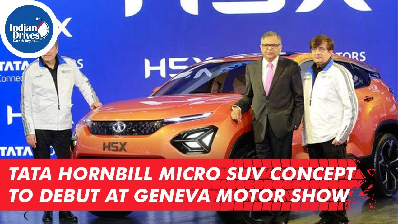 Tata Hornbill Micro SUV Concept To Debut At Geneva Motor show