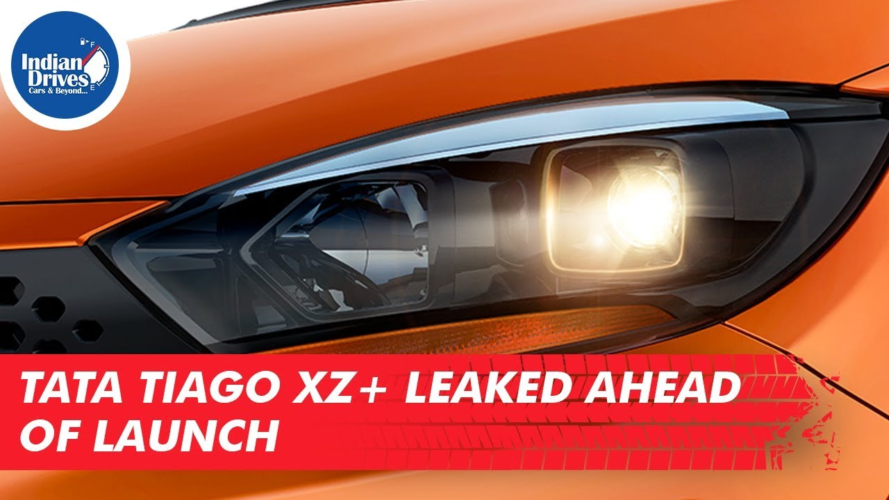 Tata Tiago XZ+ Leaked Online Ahead Of Its Launch