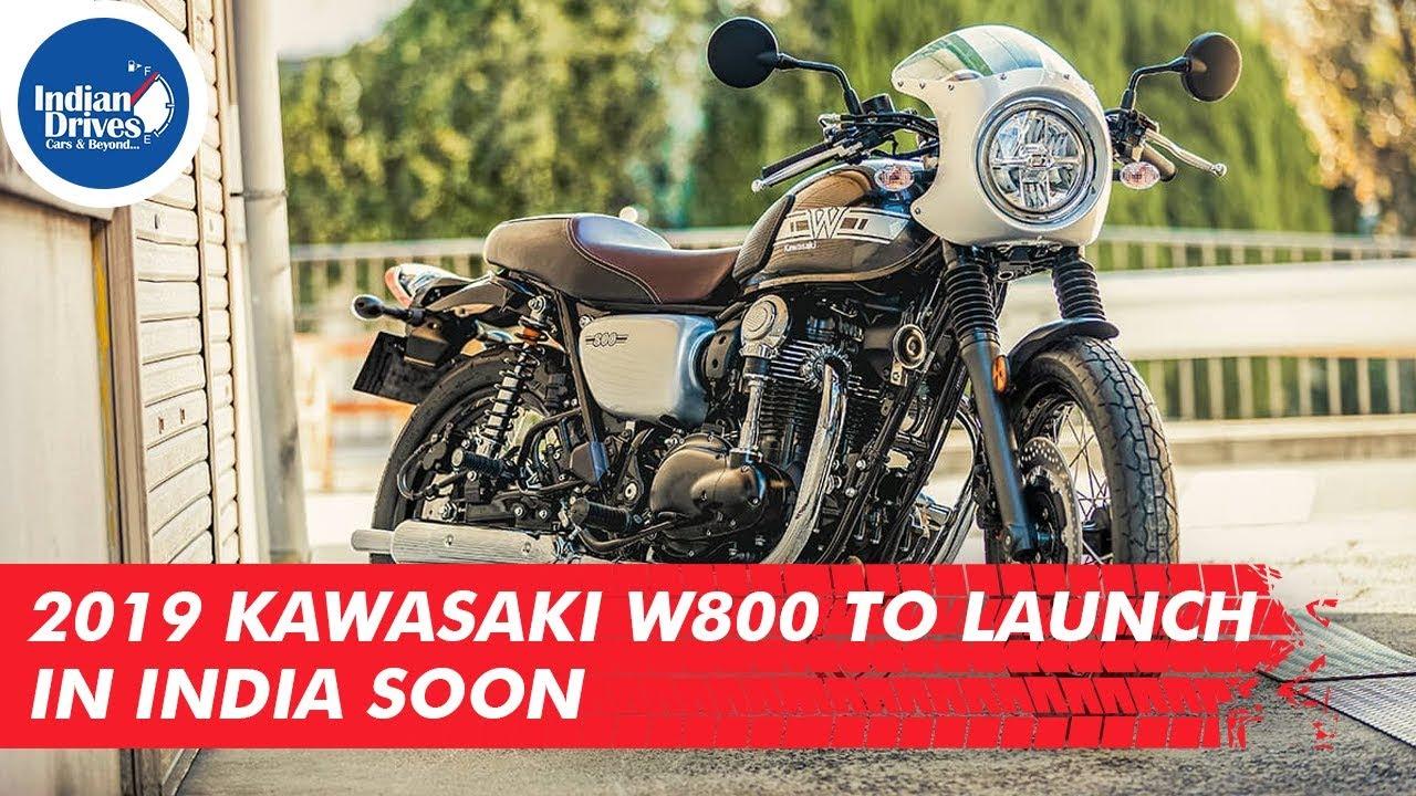 2019 Kawasaki W800 To Launch In India Soon