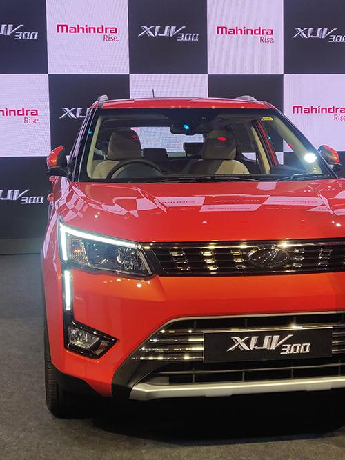 Mahindra XUV300 launched at 7.90 Lakhs.