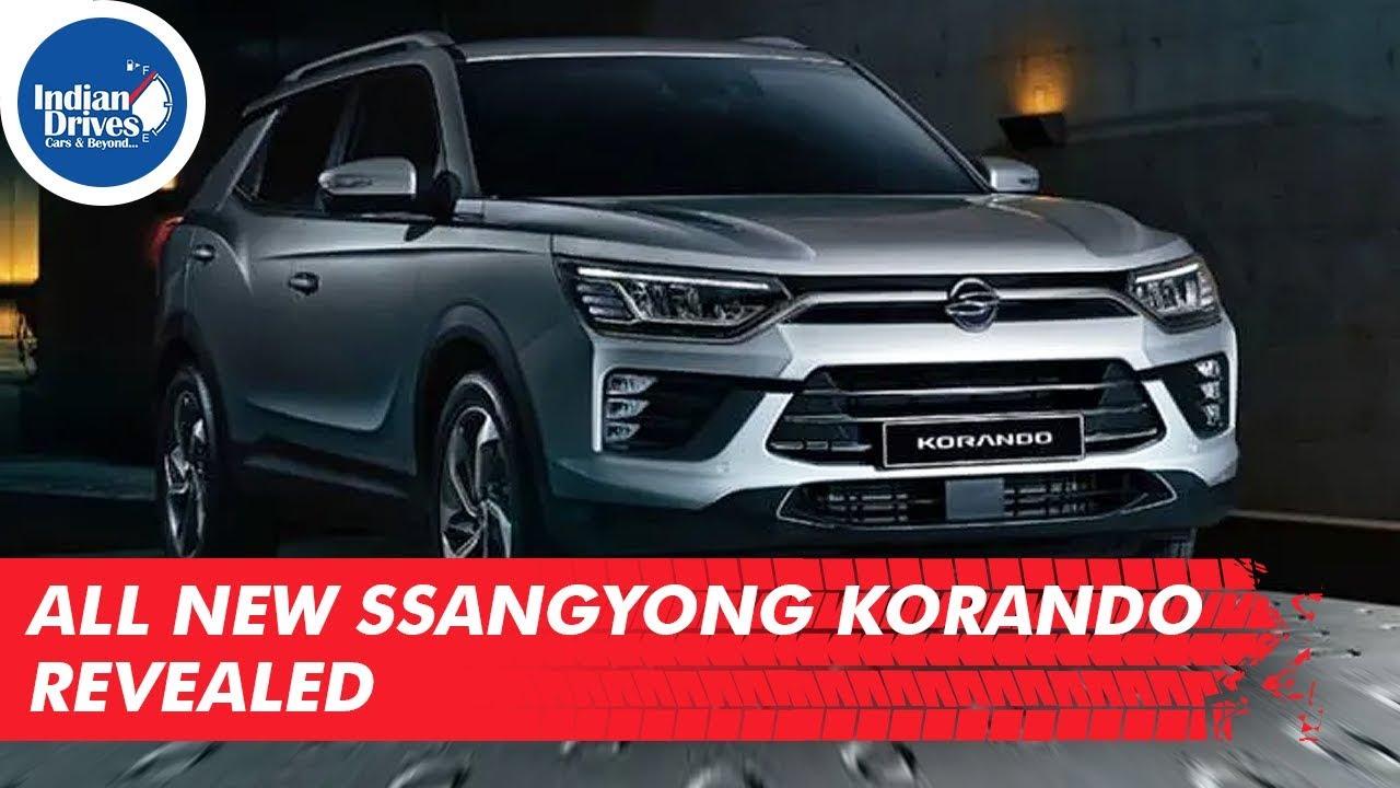 All New SsangYong Korando Revealed
