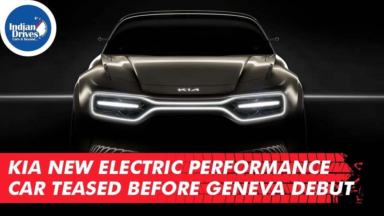 Kia New Electric Performance Car Teased Before Geneva Debut