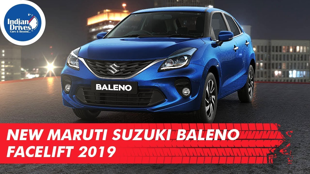 New Maruti Suzuki Baleno Facelift 2019 – Complete Details Including Pricing