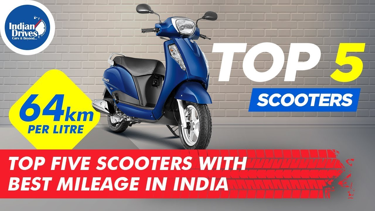 Scooters With Best Mileage In India | Includes Pricing | Indian Drives