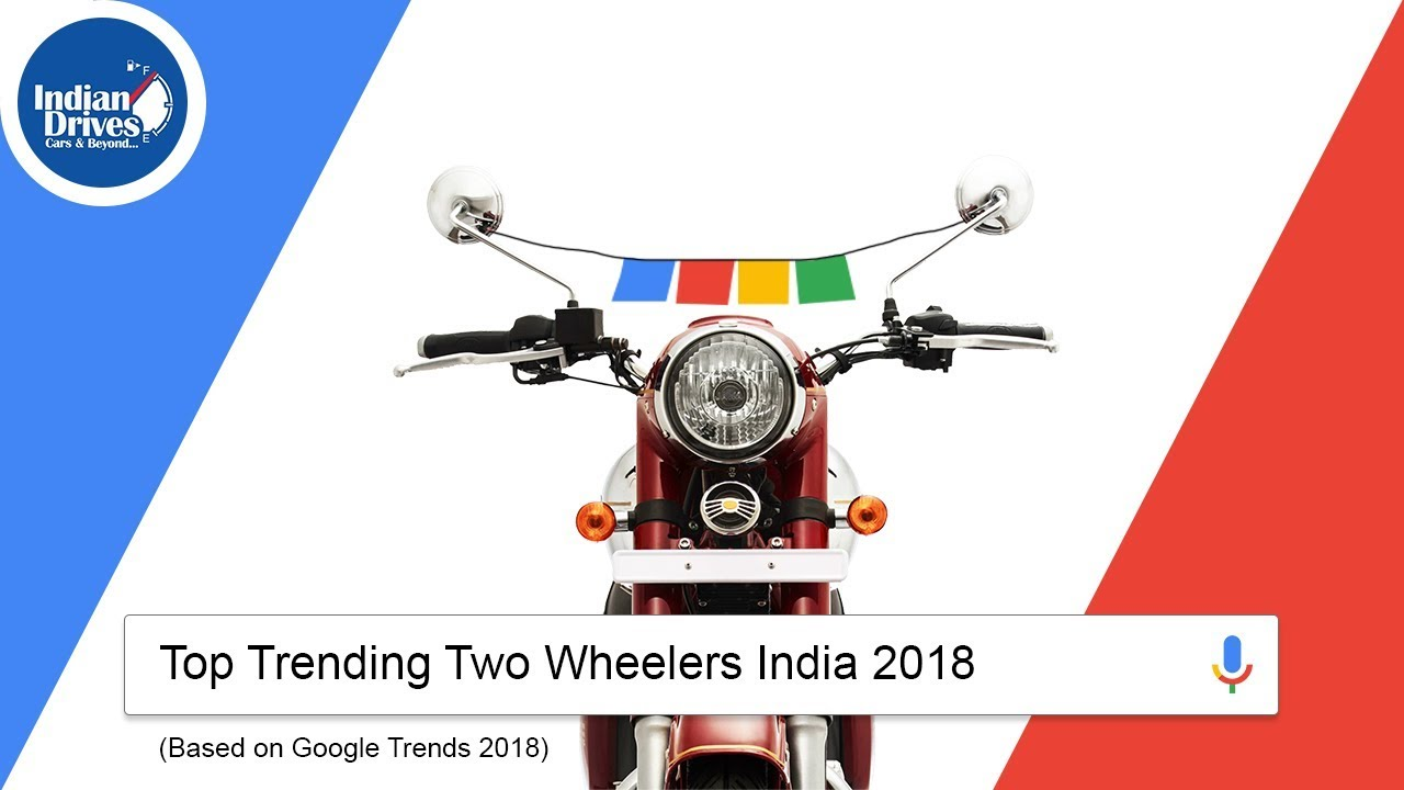 The Most Searched Bikes In Google India 2018 | Google Trending Bikes