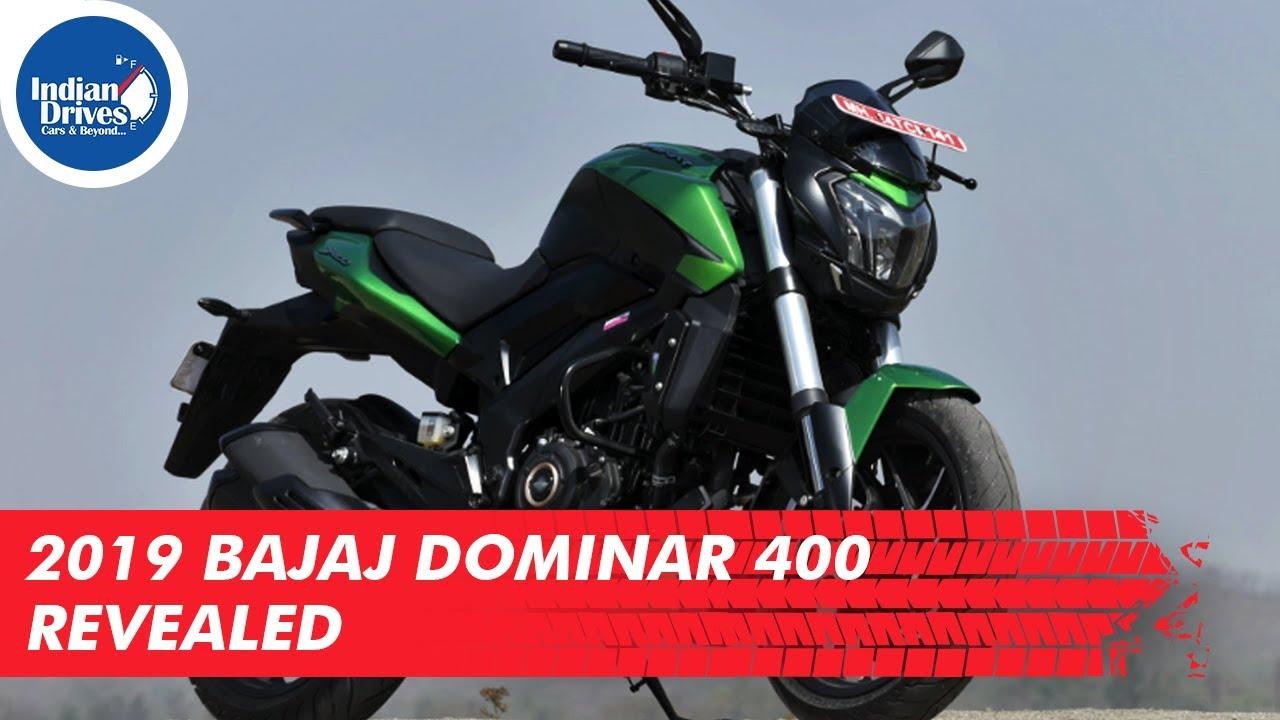 2019 Bajaj Dominar 400 Revealed | Indian Drives