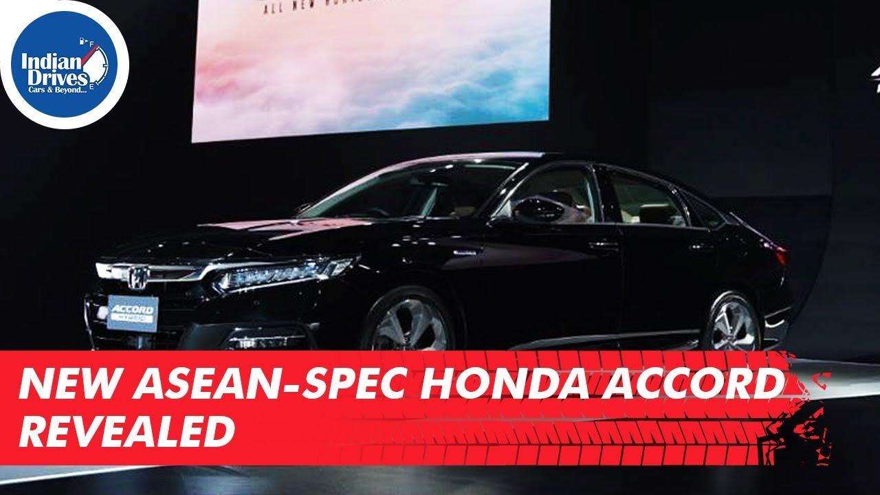 New ASEAN spec Honda Accord Revealed