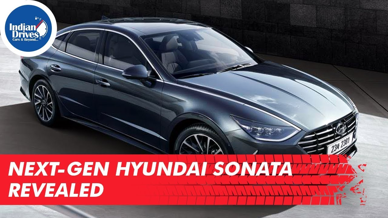 Next-Gen Hyundai Sonata Officially Revealed | Indian Drives