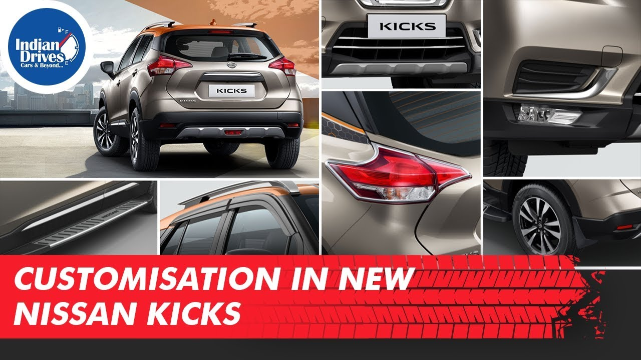 New Nissan Kicks Accessories Intelligent SUV Customisation & Accessories