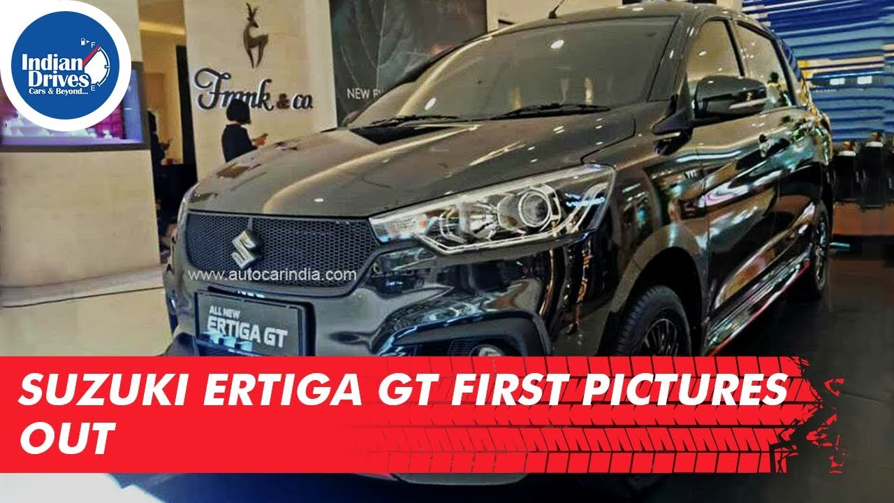 Suzuki Ertiga GT First Pictures Out | To Be Launched In Indonesia