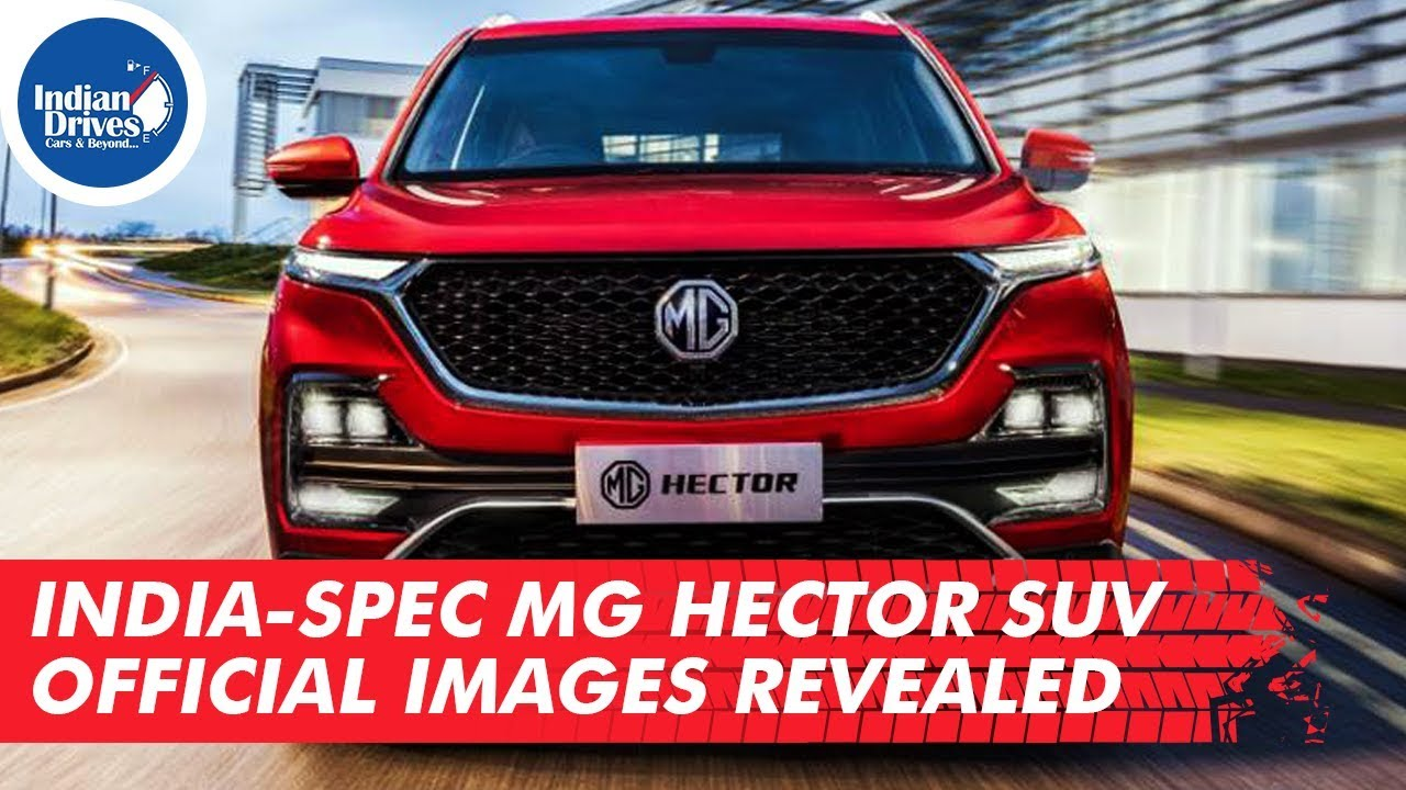 India-spec MG Hector SUV Official Images Revealed