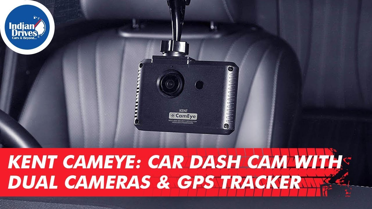 Kent Cameye Car Dash Cam, Front & Rear Imagery,