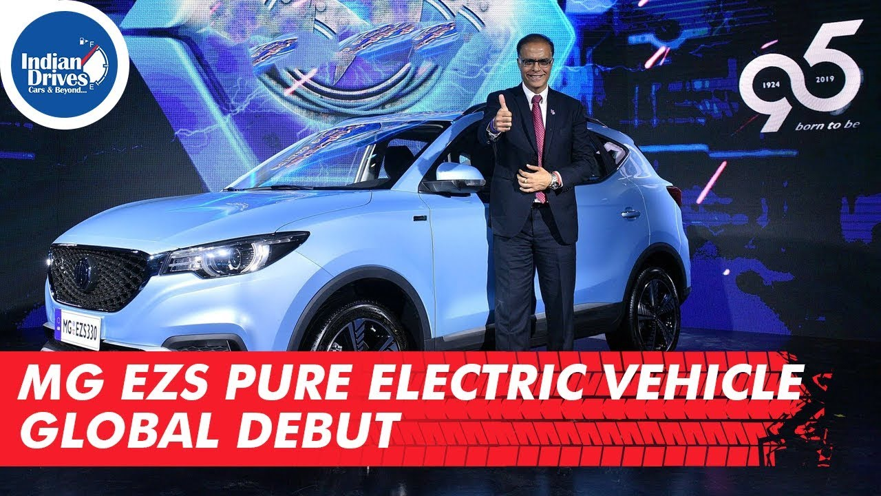 MG eZS Pure Electric Vehicle Unveiled Globally