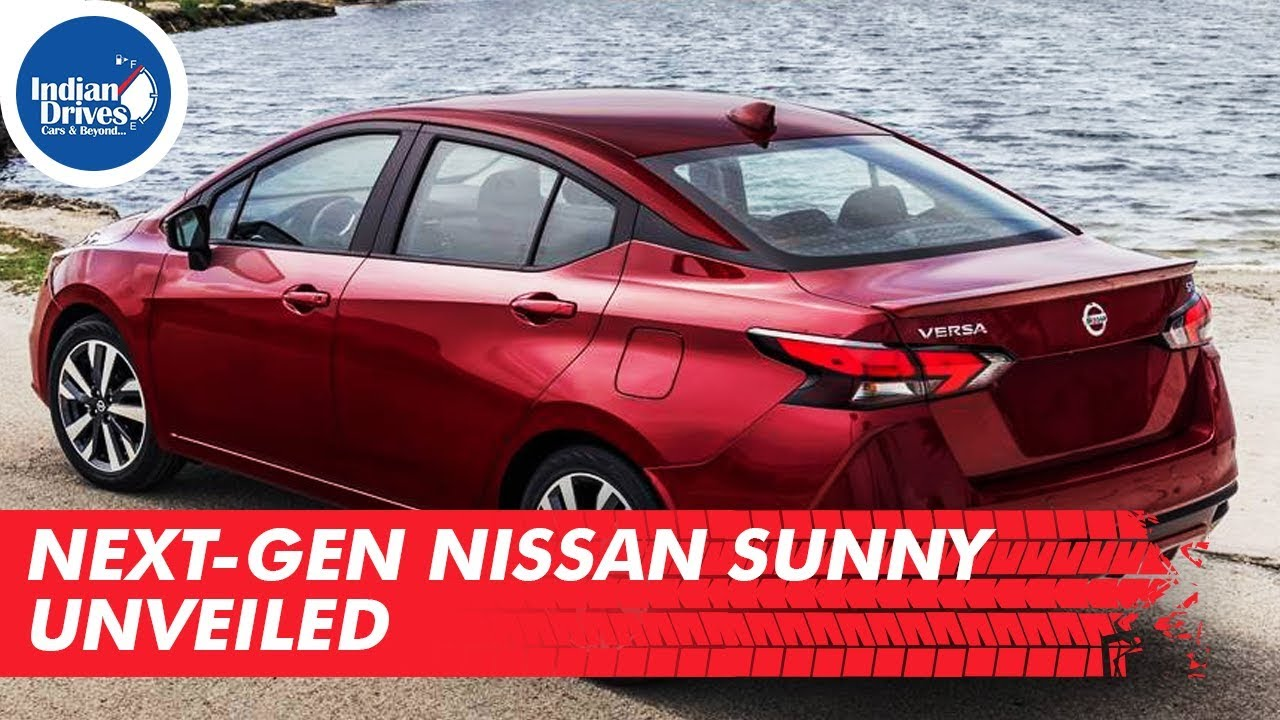 Next-Gen Nissan Sunny Unveiled Indian Drives