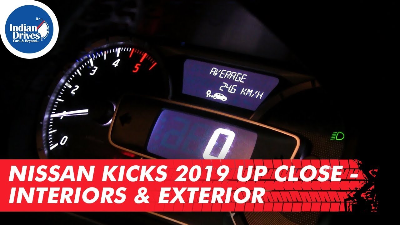 Nissan Kicks Intelligent SUV 2019 Up Close Interiors & Exterior