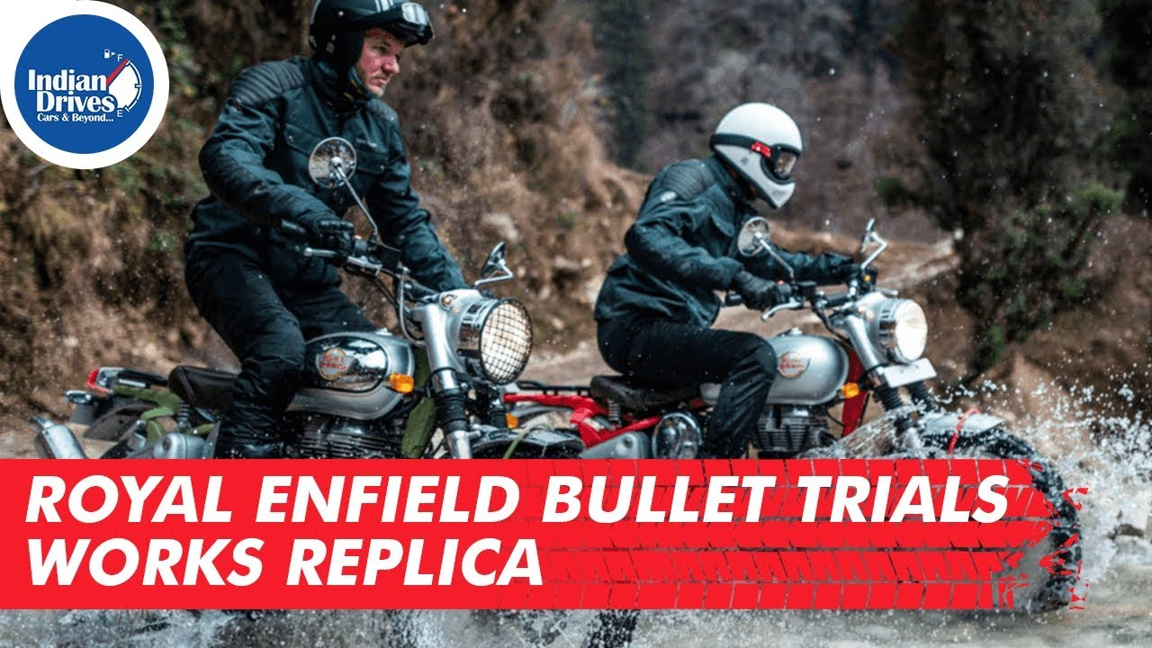 Royal Enfield Bullet Trials Works Replica | Indian Drives