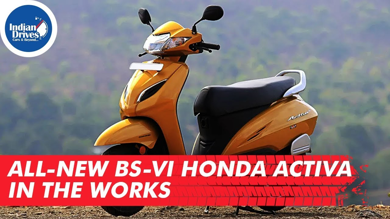 All-new BS-VI Honda Activa In The Works | Indian Drives