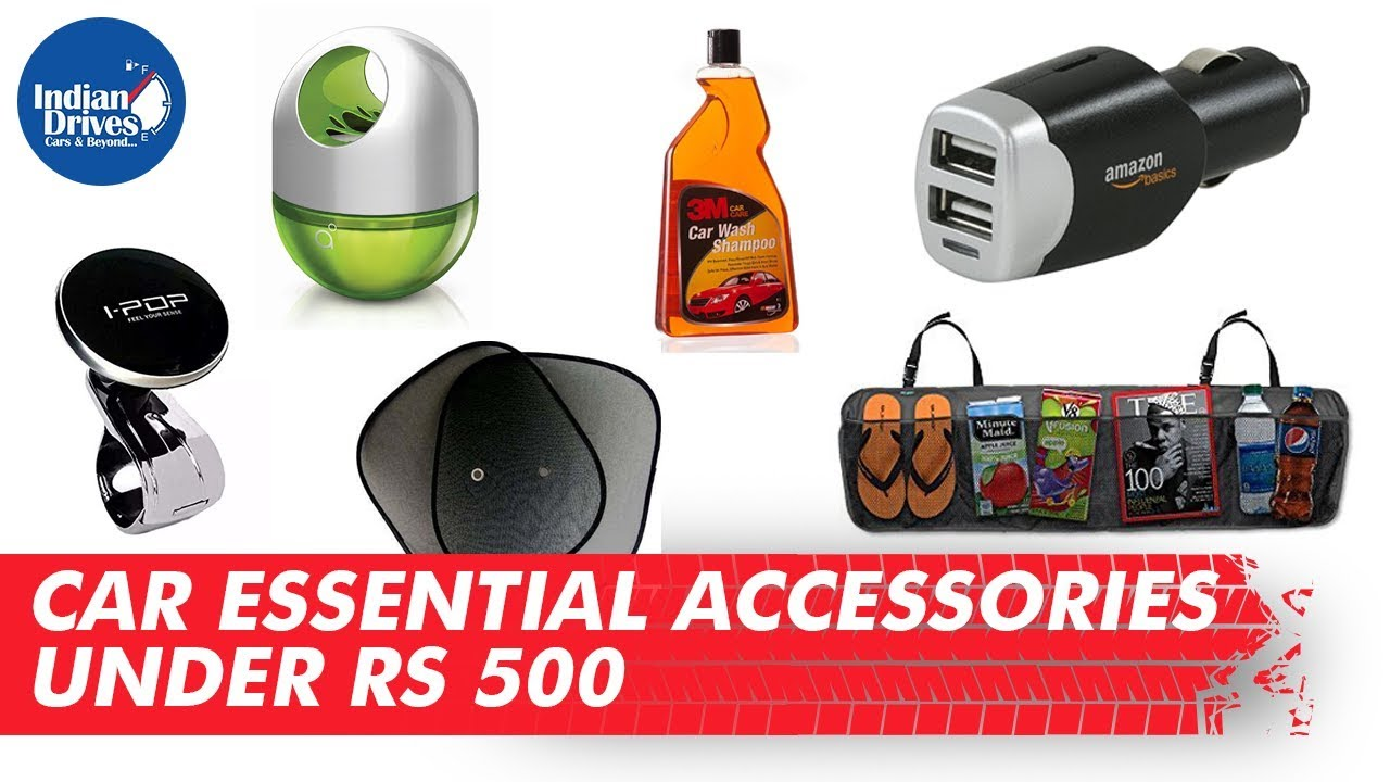 Car essential accessories under Rs 500 | Indian Drives