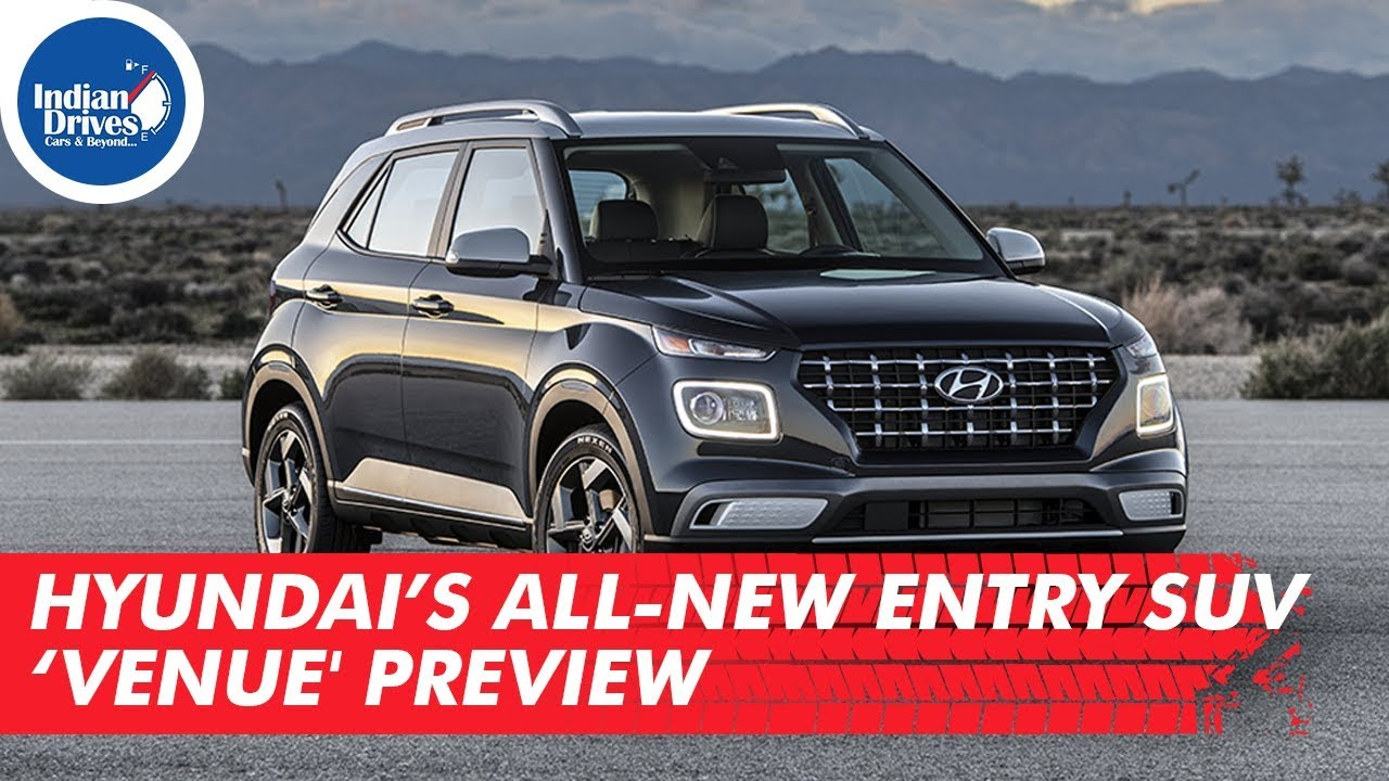 Hyundai's all-new entry SUV 'Venue Preview | Indian Drives