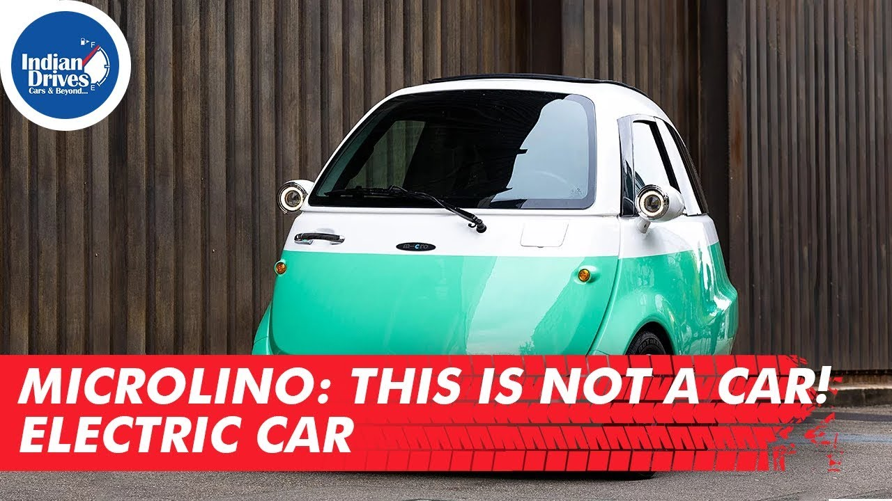 Microlino : This is not a car! Electric Car | Indian Drives