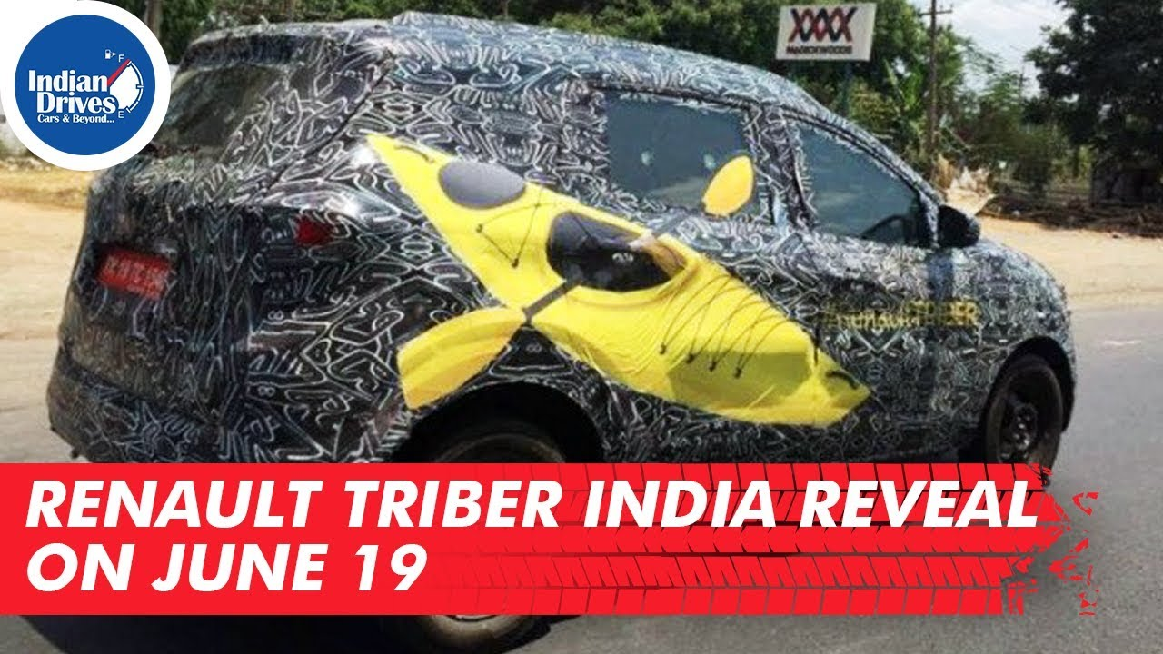 Renault Triber India Reveal On June 19