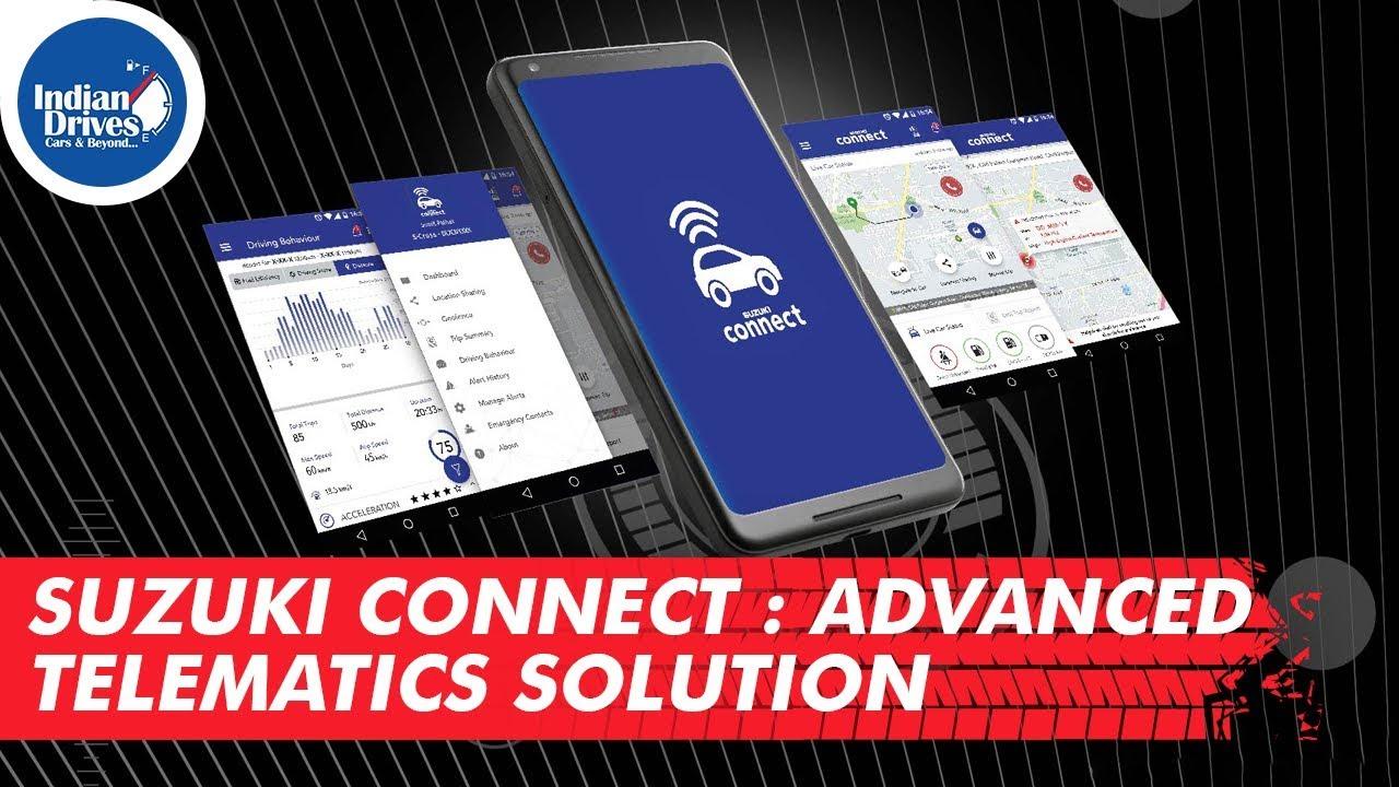 Suzuki Connect : Advanced Telematics Solution | Indian Drives