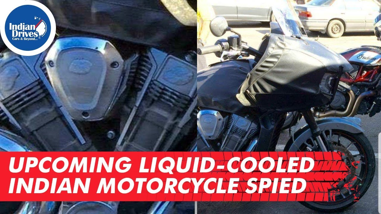 Upcoming Liquid-cooled Indian Motorcycle Spied