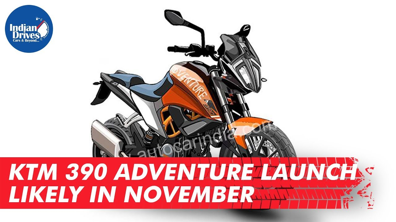 KTM 390 Adventure Launch Likely In November